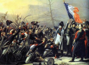 נפוליאון חוזר מהגלות באי אלבה.